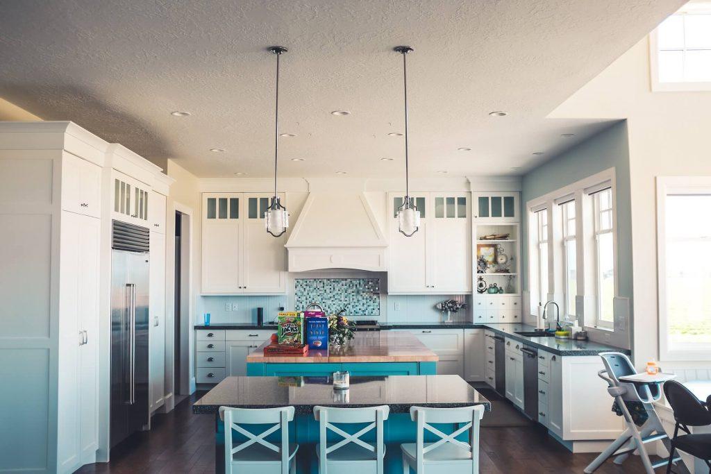 keukeninspiratie - verlichting maakt het af